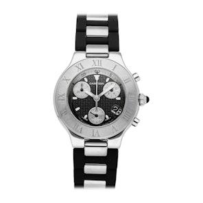 Cartier Must 21 Chronoscaph W10125U2