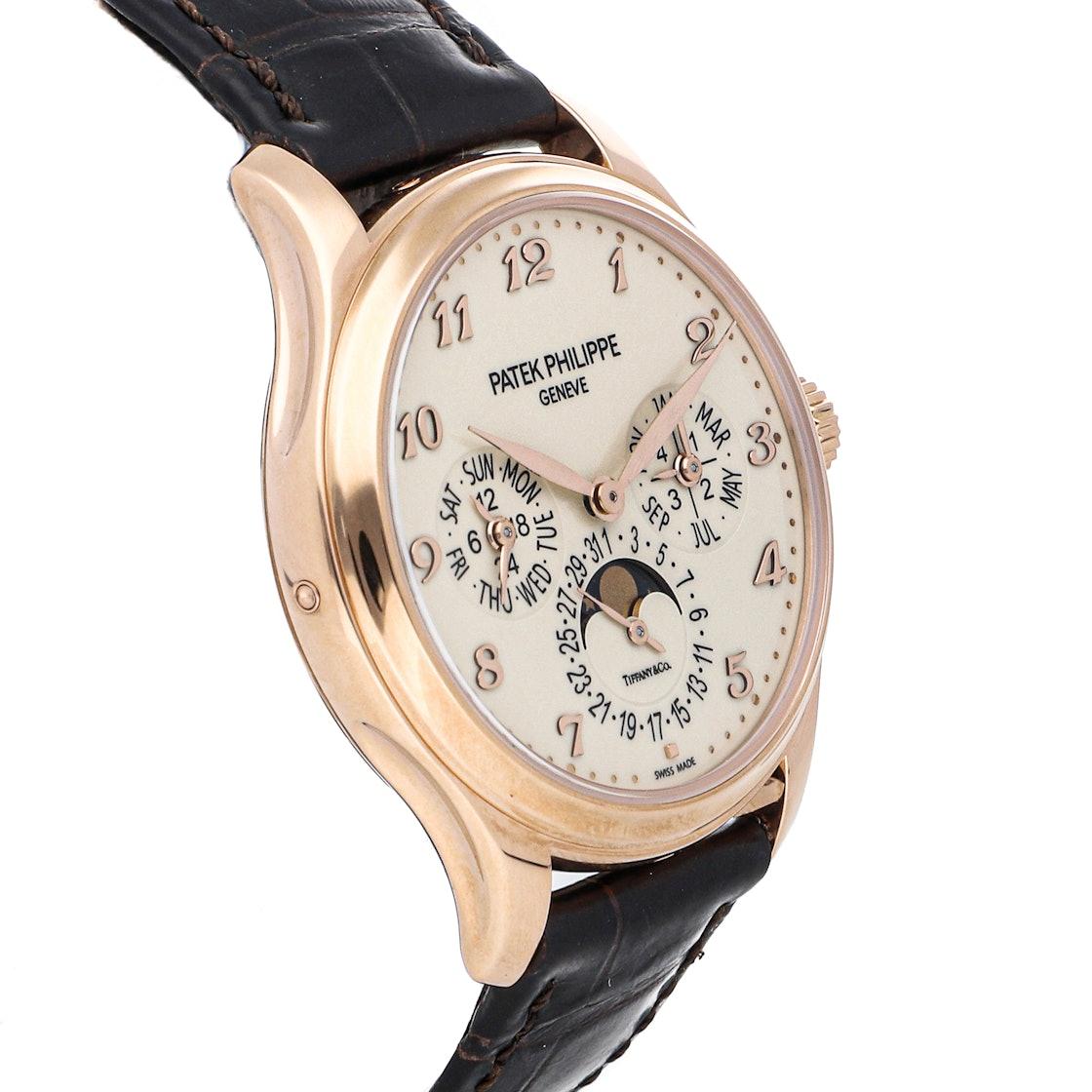 "Patek Philippe Grand Complications Perpetual Calendar ""Tiffany & Co."" 5327R-001"
