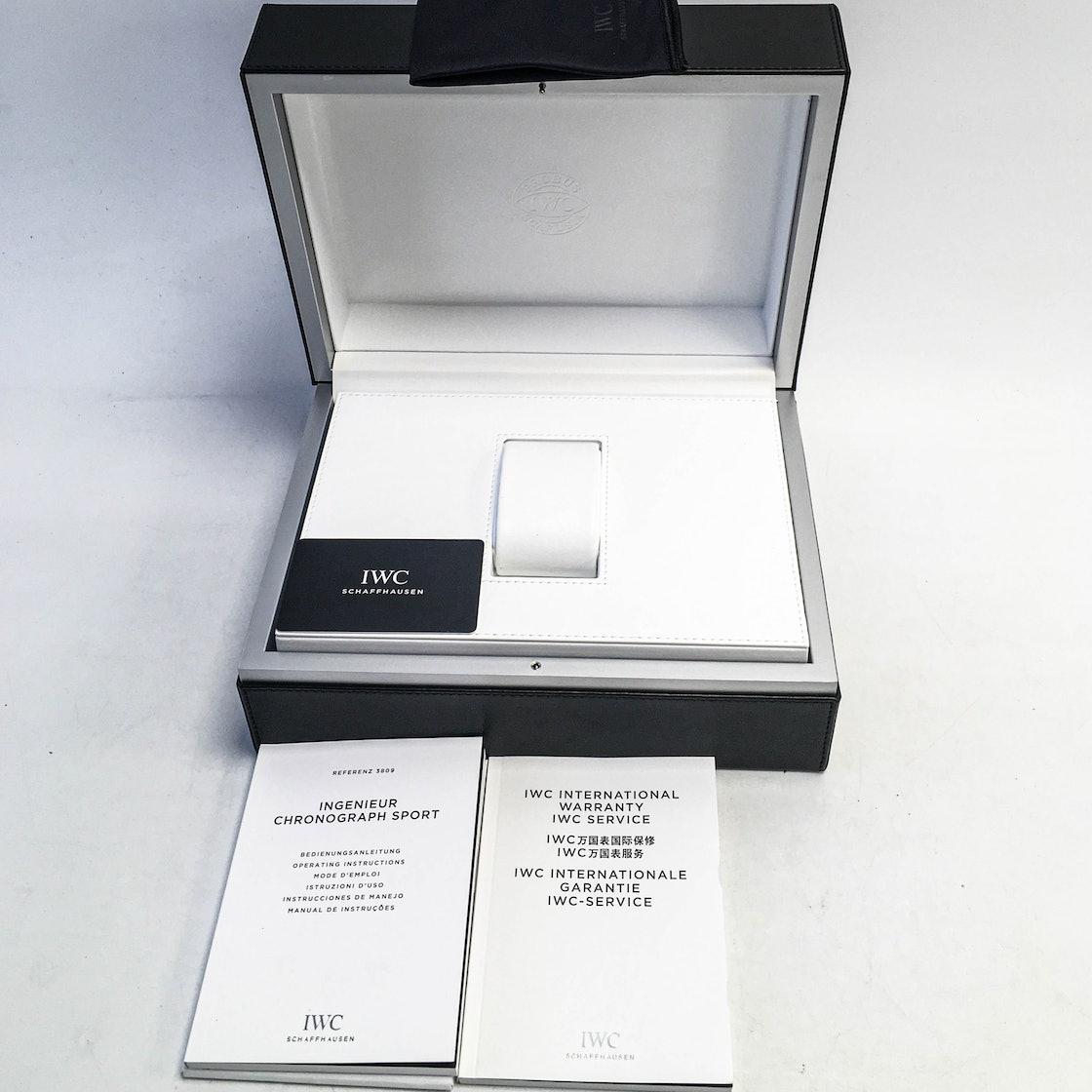 IWC Ingenieur Chronograph IW3809-01