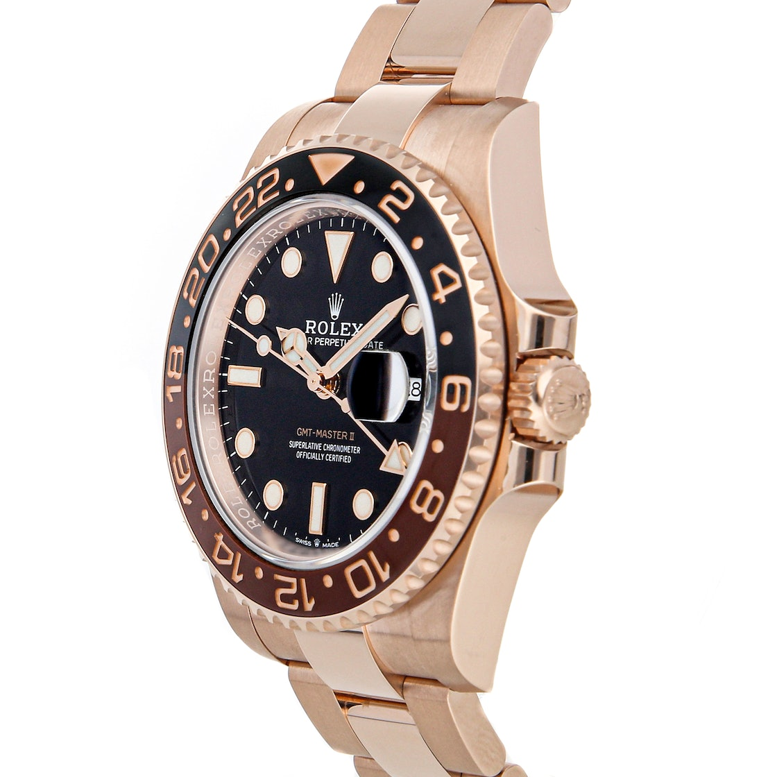 "Rolex GMT-Master II ""Rootbeer"" 126715CHNR"