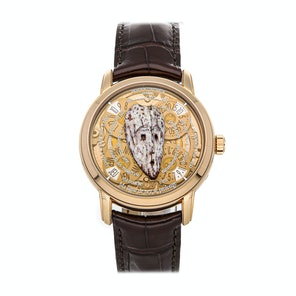 Vacheron Constantin Metiers dArt Les Masques Gabon Mask Limited Edition Set 86070/000R-9402