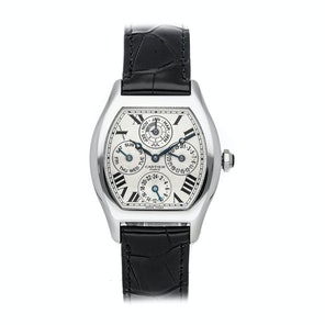 Cartier Tortue Perpetual Calendar W1540551