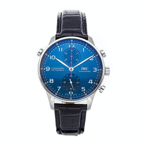 "IWC Portugieser Chronograph Rattrapante Edition ""Boutique Munich"" IW3712-17"