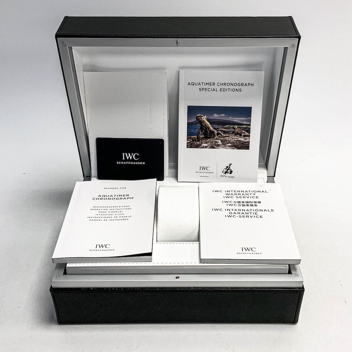 """IWC Aquatimer Chronograph """"Galapagos Islands"""" Edition IW3795-02"""