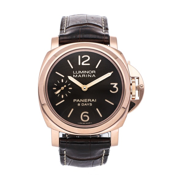 Panerai Luminor 8-Days Oro Rosso Limited Edition PAM 511