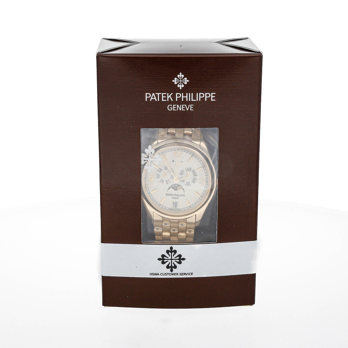 Patek Philippe Complications Annual Calendar Moon Phases 5146/1J-001