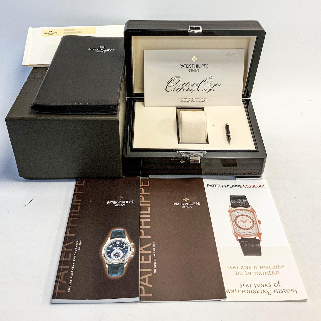 Patek Philippe Complications Annual Calendar Chronograph 5960P-016
