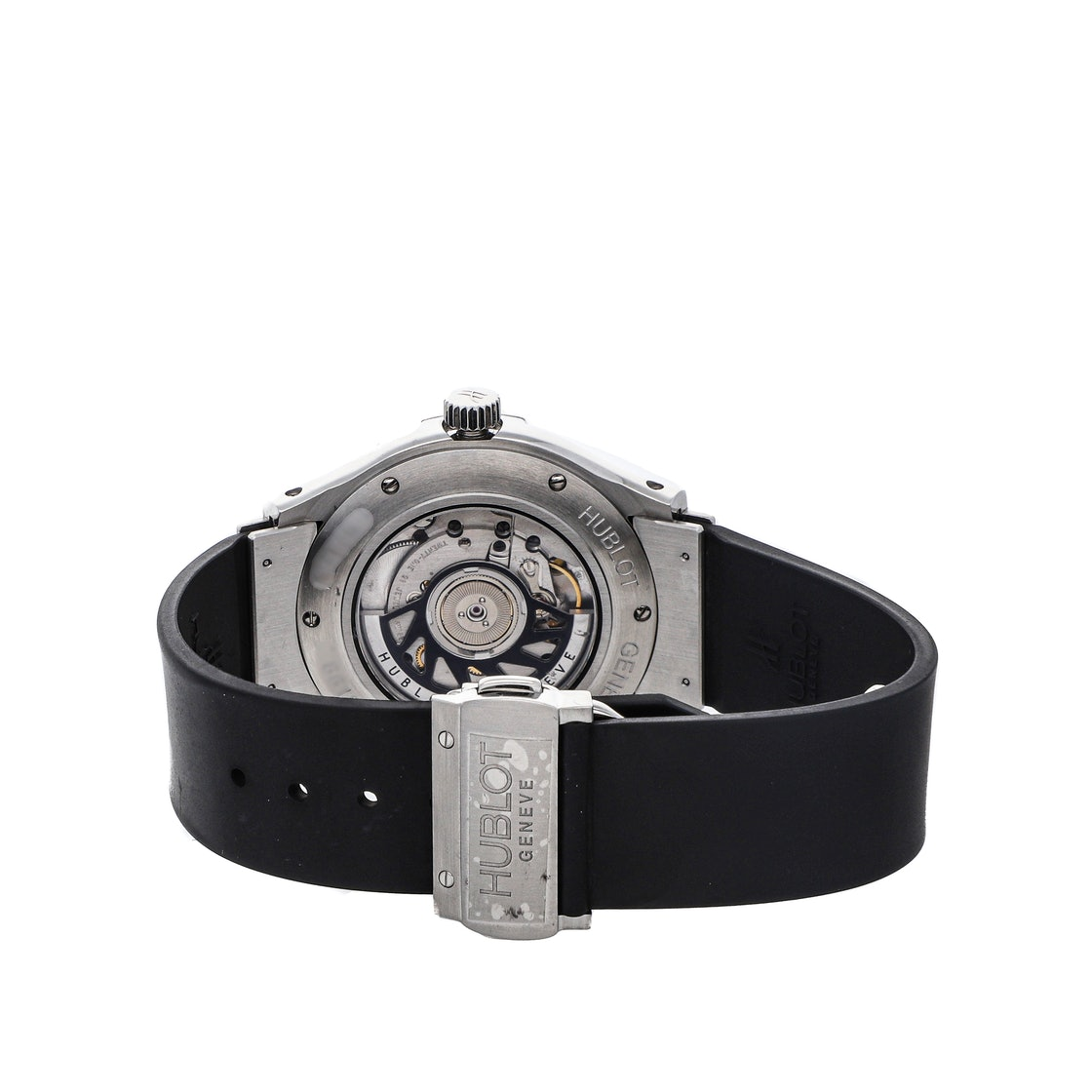 """Hublot Classic Fusion """"George Rodrigue Blue Dog"""" Limited Edition 1915.001.01BL007"""