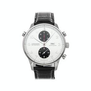 "IWC Portugieser Chronograph Rattrapante Edition ""Boutique Toronto"" IW3712-20"