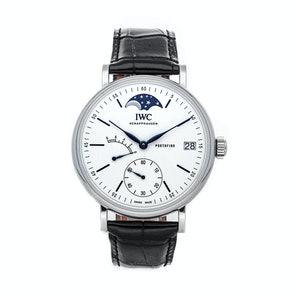 "IWC Portofino Hand-Wound Moon Phase Edition ""150 Years"" IW5164-06"