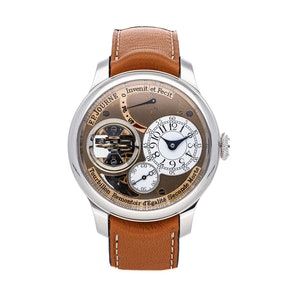 F.P.Journe Tourbillon Souverain Vertical TOURBILLON TV PT