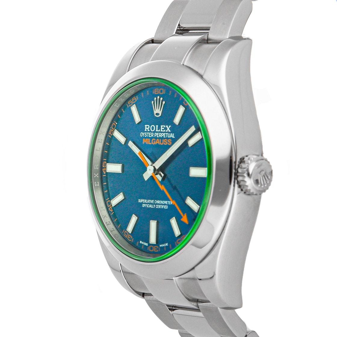 "Rolex Milgauss ""Z-Blue"" 116400GV"