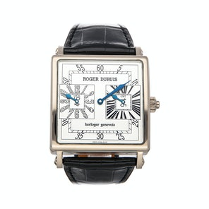 Roger Dubuis Golden Square Jump Hour GMT G43 1447 0 37