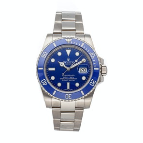 "Rolex Submariner ""Smurf"" 116619LB"