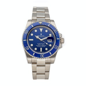 "Rolex Submariner ""Smurf"" 116619"
