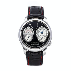 F.P. Journe Chronometre a Resonance Black Label RT PT 40 BLACK