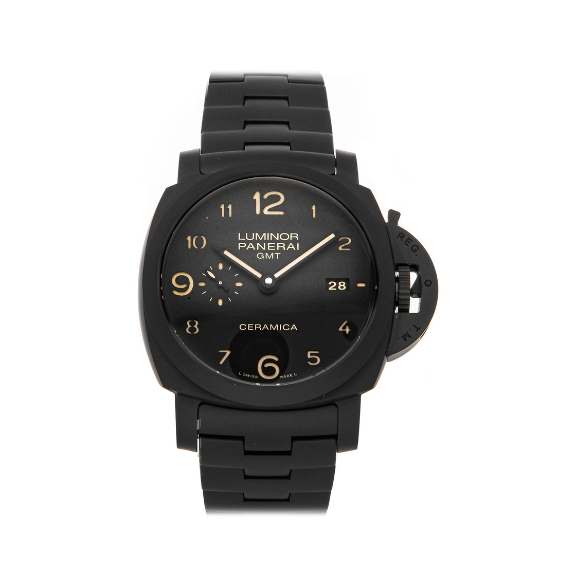 Panerai Luminor 1950 3-Days GMT Tuttonero PAM 438