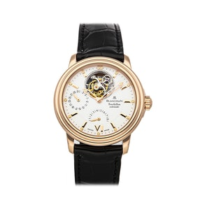 Blancpain Leman Tourbillon Power Reserve 2125-3618-53