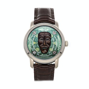 Vacheron Constantin Metiers dArt Les Masques Indonesian Mask Limited Edition 86070/000G-9399