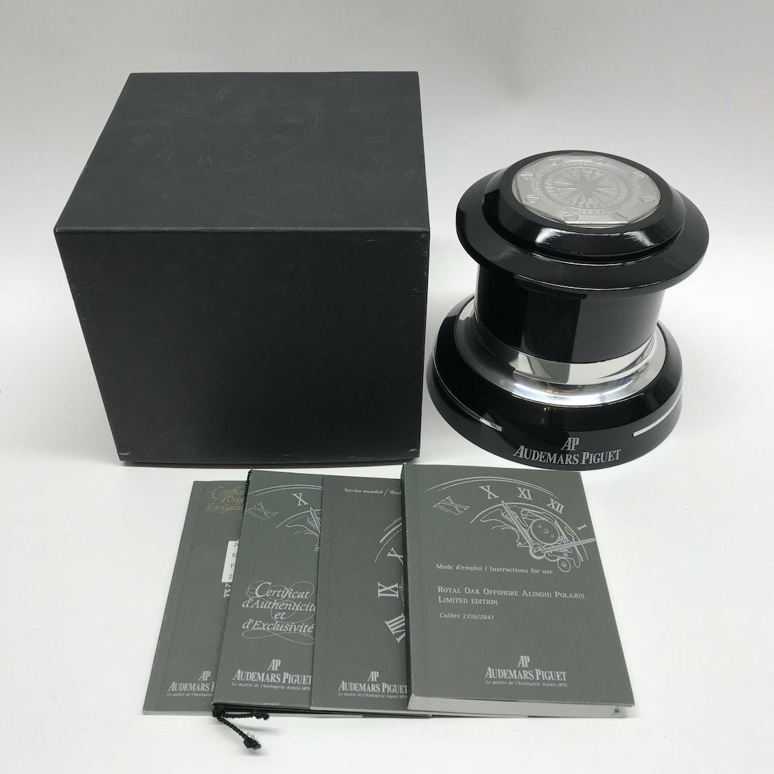 """Audemars Piguet Royal Oak Offshore """"Alinghi Polaris"""" Limited Edition 26040ST.OO.D002CA.01"""