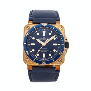 Bell & Ross BR 03-92 Diver Bronze Limited Edition BR0392-D-LU-BR/SCA