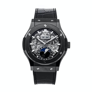 Hublot Classic Fusion Aerofusion Moon Phase Black Magic 547.CX.0170.LR