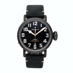 Zenith Pilot Type 20 Ton Up Tribute To The Cafe Racer Spirit 11.2432.679/21.C900