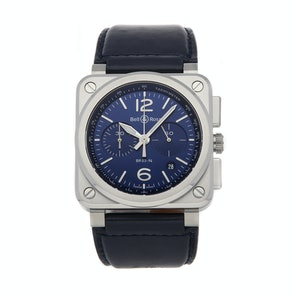 Bell & Ross Aviation BR 03-94 BR0394-BLU-ST/SCA