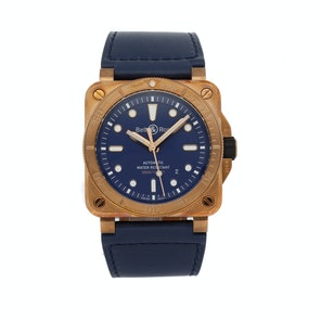 Bell & Ross 03-92 Diver Bronze Navy Blue Limited Edition BR0392-D-BU-BR/S