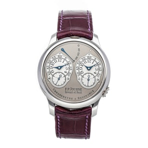 F.P. Journe Chronometre a Resonance RT PT 40 A