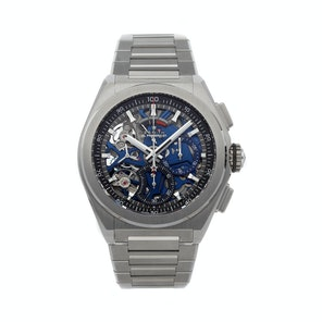 Zenith Defy El Primero 21 1/100th Of A Second Chronograph 95.9002.9004/78.M9000