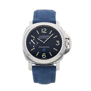 "Panerai Luminor Marina ""Blue"" Logo 3-Days PAM 777"