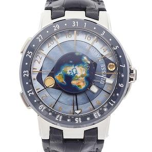 Ulysse Nardin Executive Moonstruck Worldtimer Limited Edition 1069-113