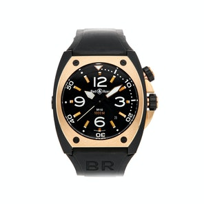 Bell & Ross BR02 BR02-PINKGOLD