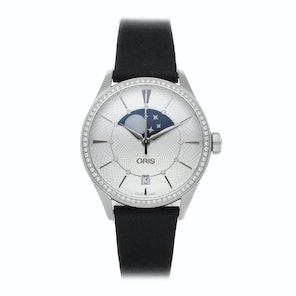 Oris Artelier Grande Lune Date Diamonds 01 763 7723 4951-07 5 18 34FC