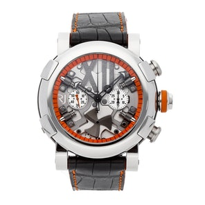 Romain Jerome Titanic-DNA Steampunk Chronograph Orange Limited Edition RJ.T.CH.SP.005.03