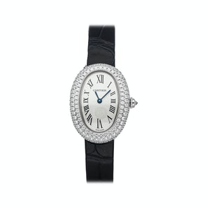 Cartier Baignoire Small Model Rodiumized WJBA0015
