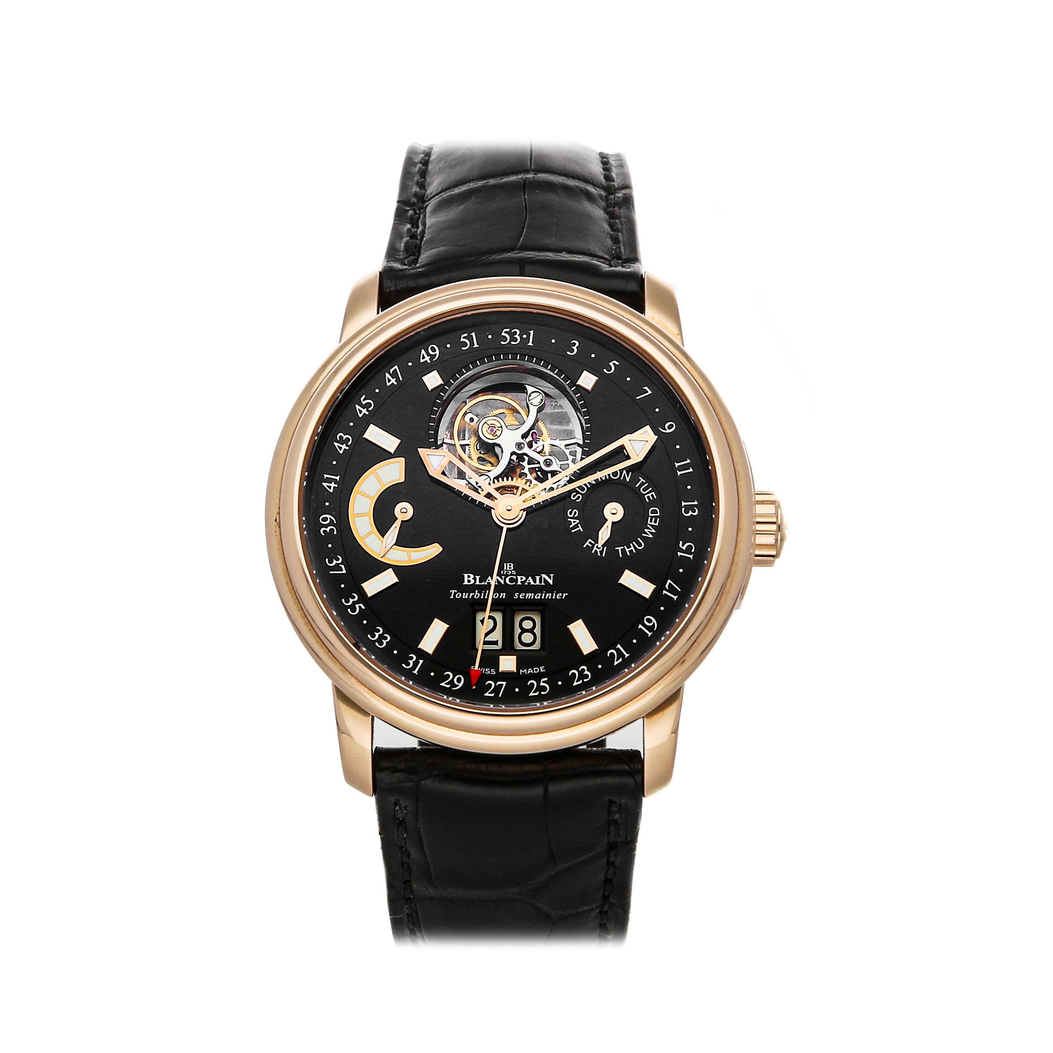 Barington Louisiane montres braceletVERITABLE CROCOVert 35353