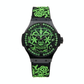 Hublot Big Bang Broderie Sugar Skull Fluo Malachik Limited Edition 343.CG.6590.NR.1222