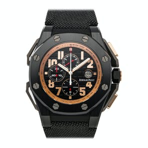 Pre-Owned Audemars Piguet Royal Oak Offshore Arnold Schwarzenegger The Legacy Chronograph 26378IO.OO.A001KE.01