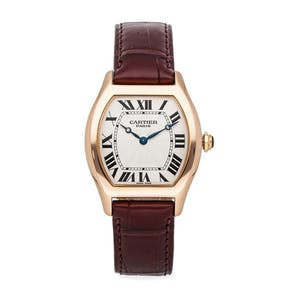 Pre-Owned Cartier Tortue Large Model W1536851