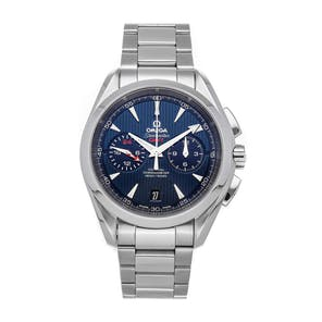 Pre-Owned Omega Seamaster Aqua Terra 150m GMT Chronograph  231.10.43.52.03.001