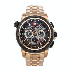 Pre-Owned Carl F. Bucherer Patravi Traveltec Fourx Limited Edition 00.10620.22.93.01