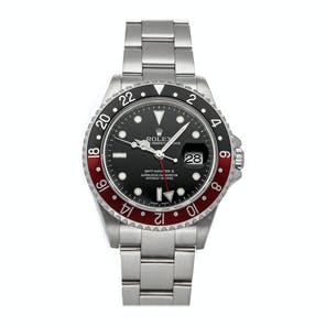 "Pre-Owned Rolex GMT-Master II ""Coke"" 16710"