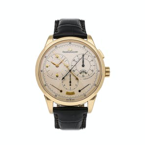 Pre-Owned Jaeger-LeCoultre Duometre a Chronographe Q6011420