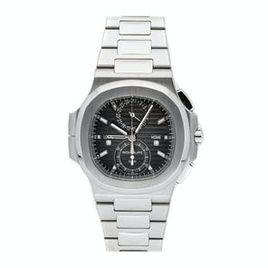 Pre-Owned Patek Philippe Nautilus Travel Time Chronograph 5990/1A-001