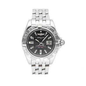 Pre-Owned Breitling Galactic 41 A49350L2/F549