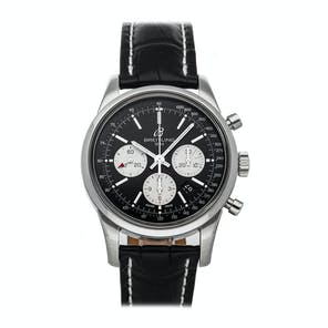 Pre-Owned Breitling Transocean Chronograph AB015212/BF26