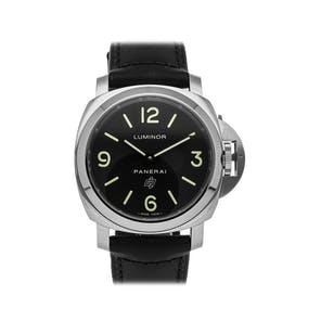 Pre-Owned Panerai Luminor Base Logo PAM01000