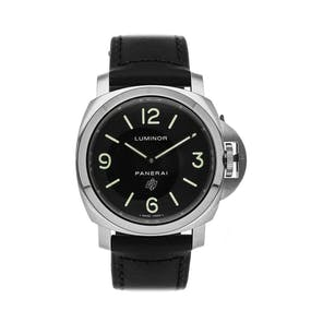 Pre-Owned Panerai Luminor Base Logo PAM 1000